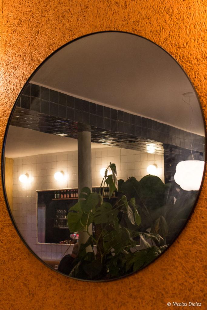 miroir restaurant Blitz Paris