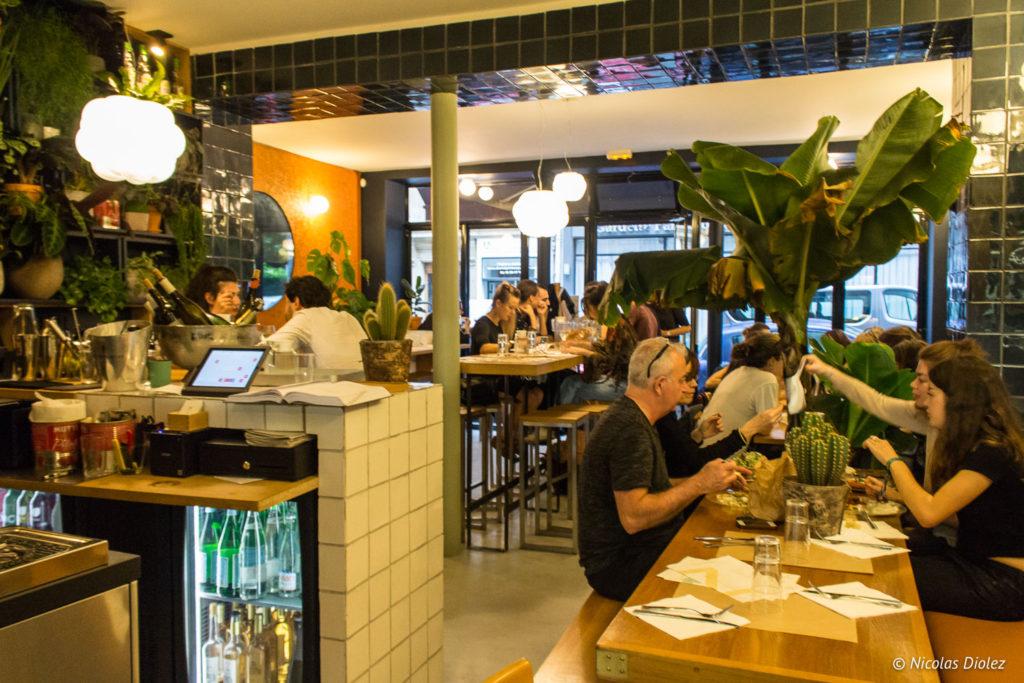 salle restaurant Blitz Paris