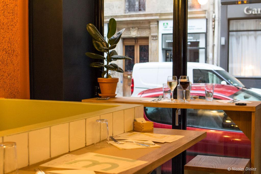 comptoir restaurant Blitz Paris