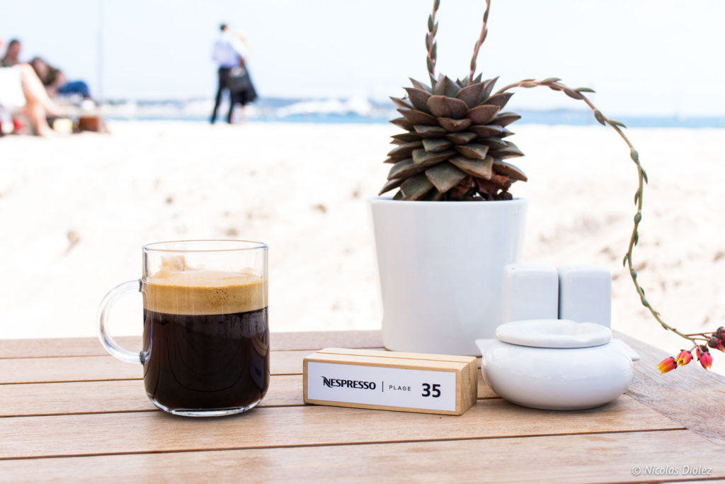 Café sur la Plage Nespresso - DR Nicolas Diolez 2018
