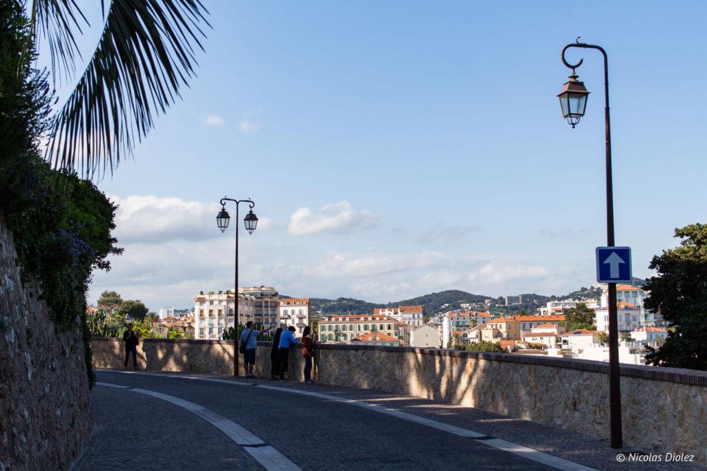 Vue du quartier du Suquet, Cannes - DR Nicolas Diolez 2018