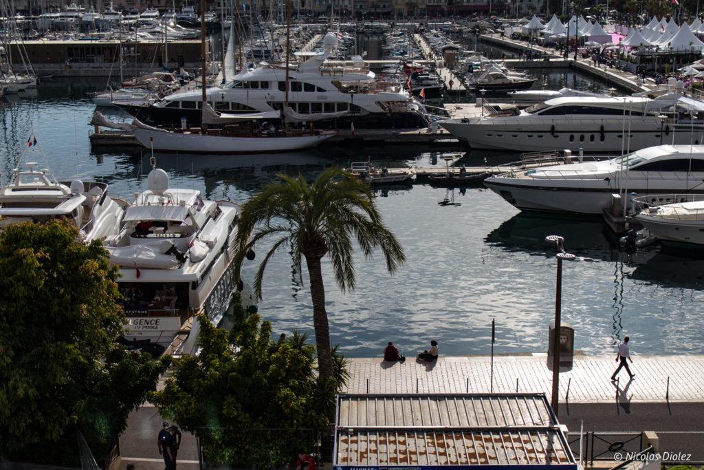 Vieux port de Cannes - DR Nicolas Diolez 2018