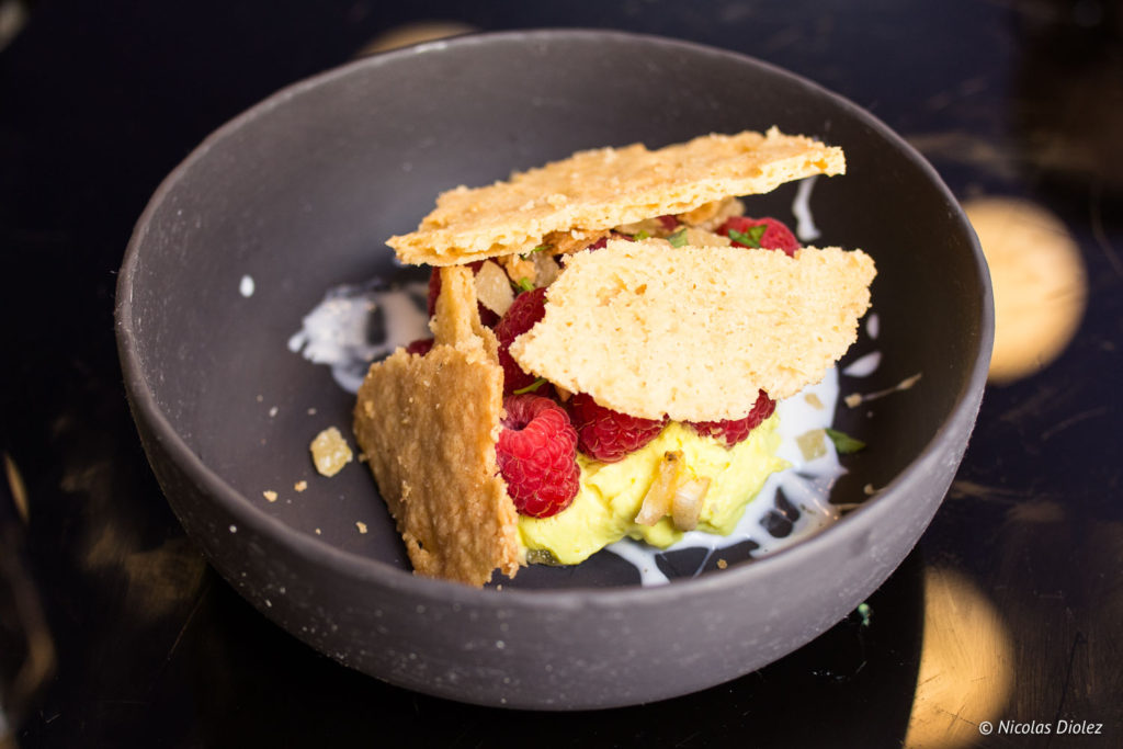 tartelette framboises restaurant Les Foodies Paris