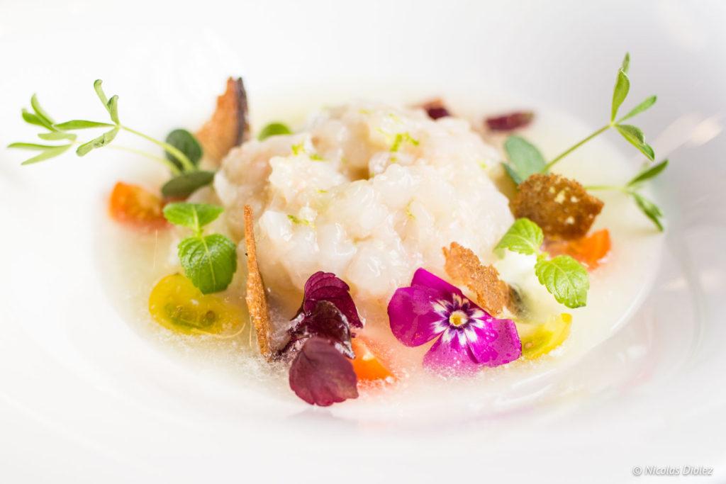 tartare langoustines restaurant Les Foodies Paris