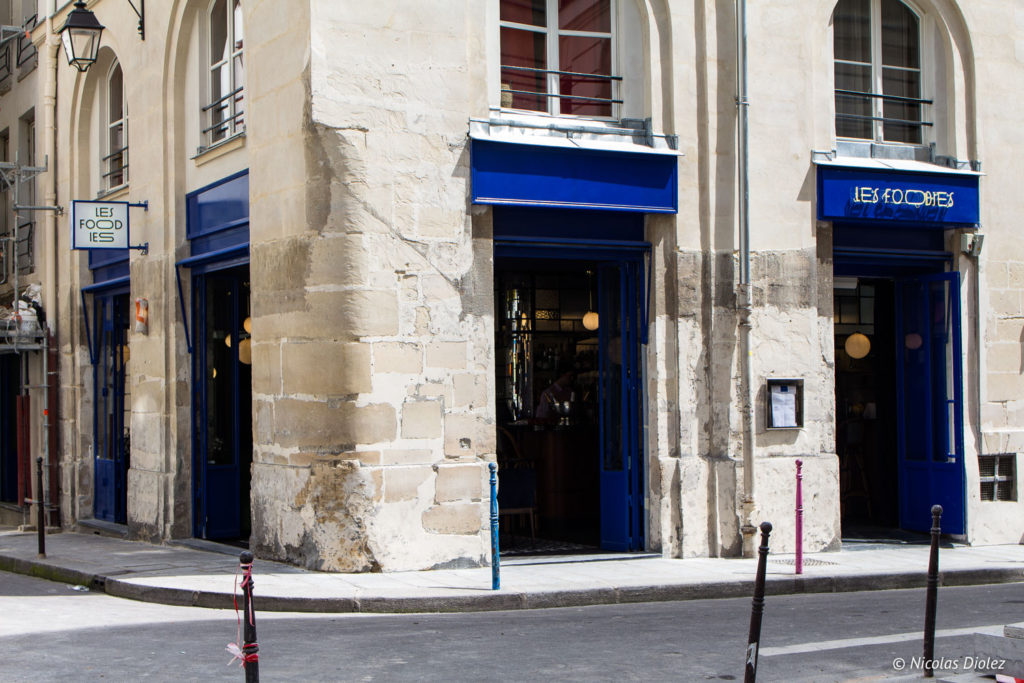 facade restaurant Les Foodies Paris