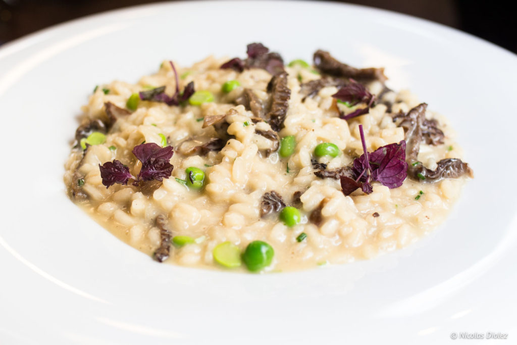 risotto restaurant Les Foodies Paris