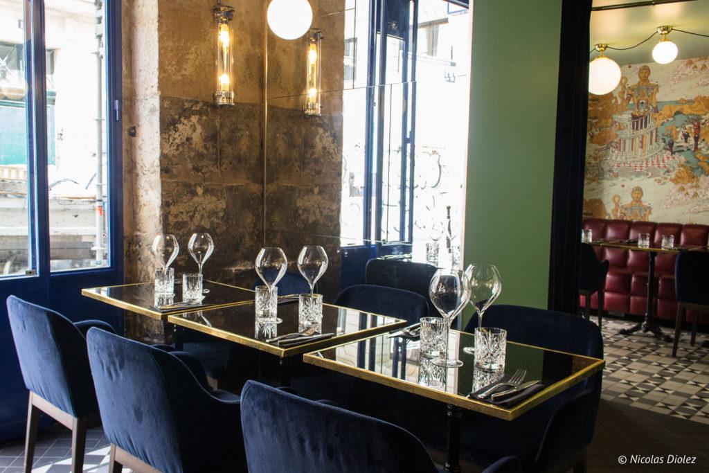 salle restaurant Les Foodies Paris
