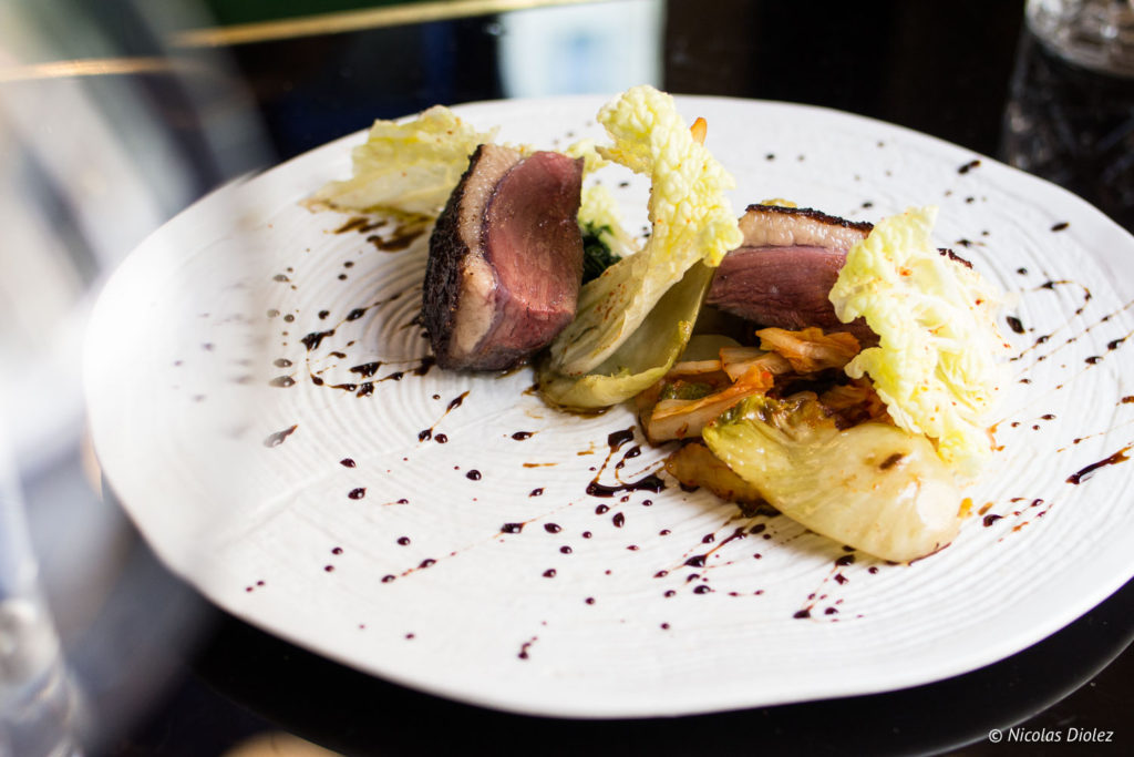 magret de canard restaurant Les Foodies Paris