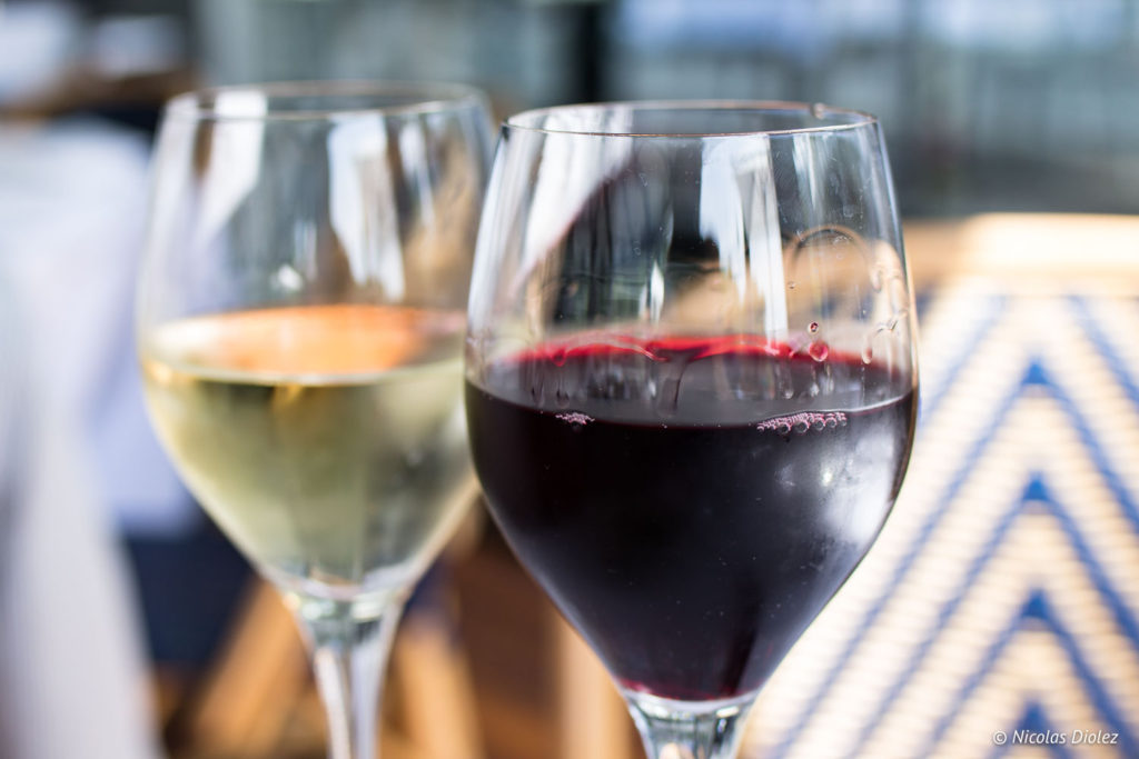 verre de vins River Café Issy Les Moulineaux