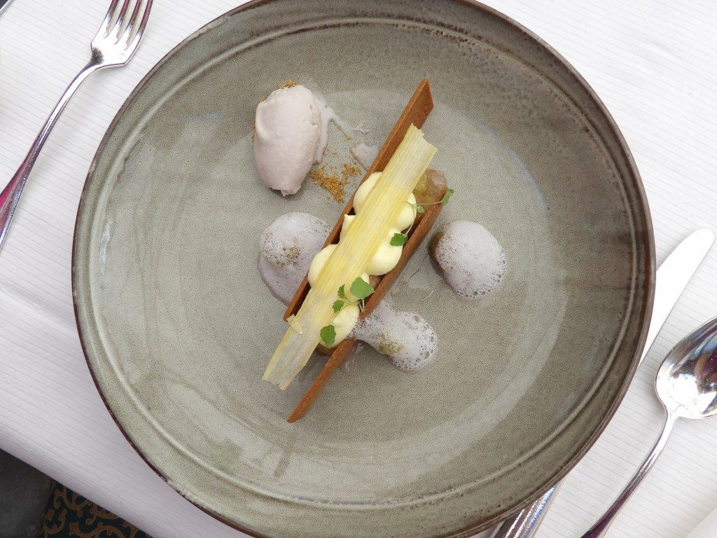 dessert Manoir du Lys Bagnoles de l'Orne