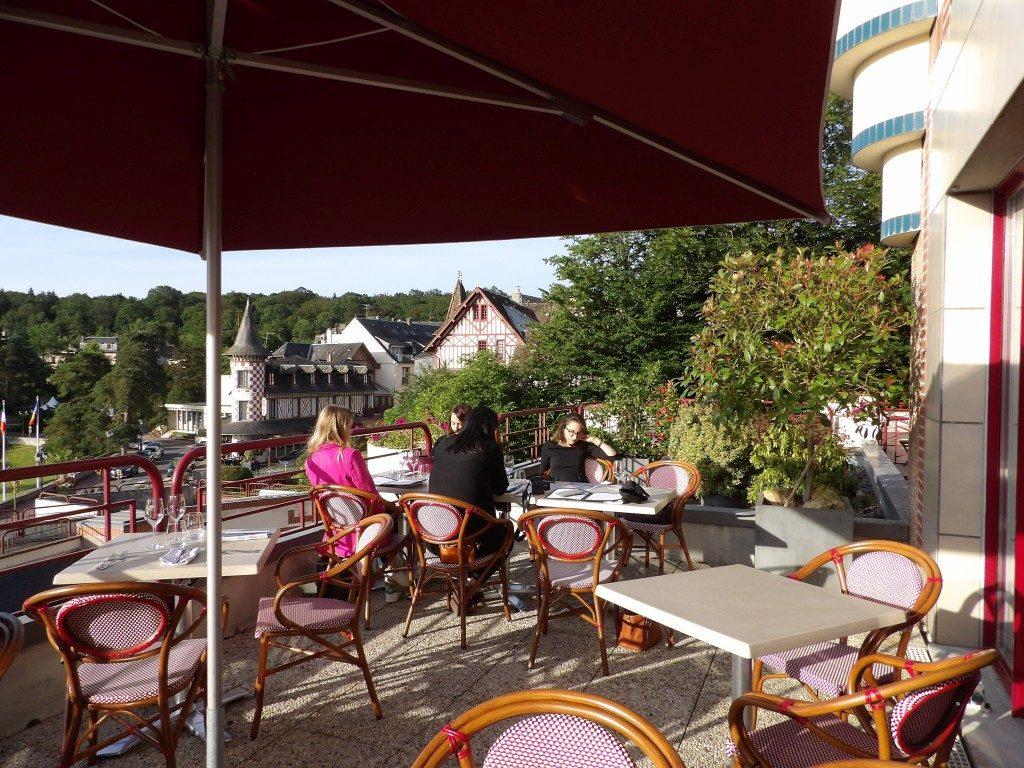 restaurant La Pommeraie Hôtel du Béryl Bagnoles de l'Orne