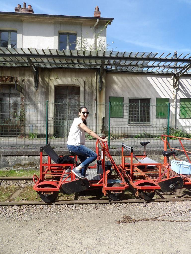vélo-rail Bagnoles de l'Orne
