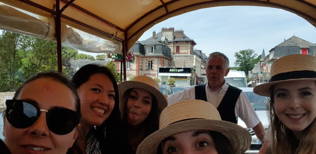 selfie Balade Calèche Bagnoles de l'Orne