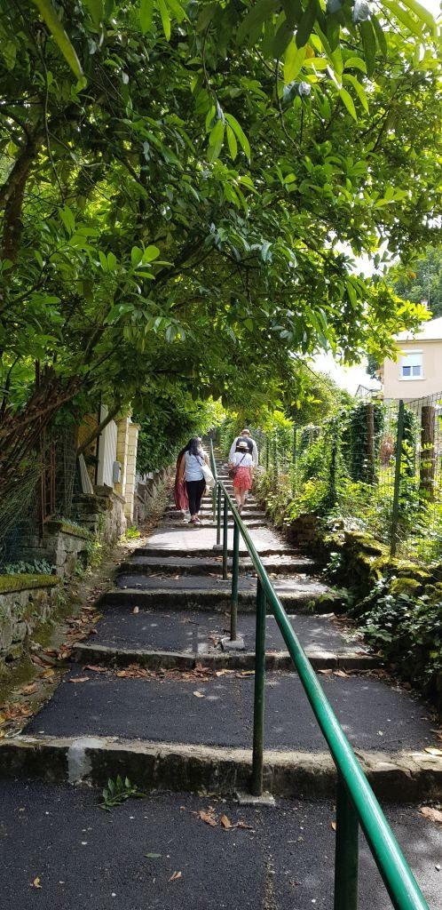 escalier Bagnoles de l'Orne