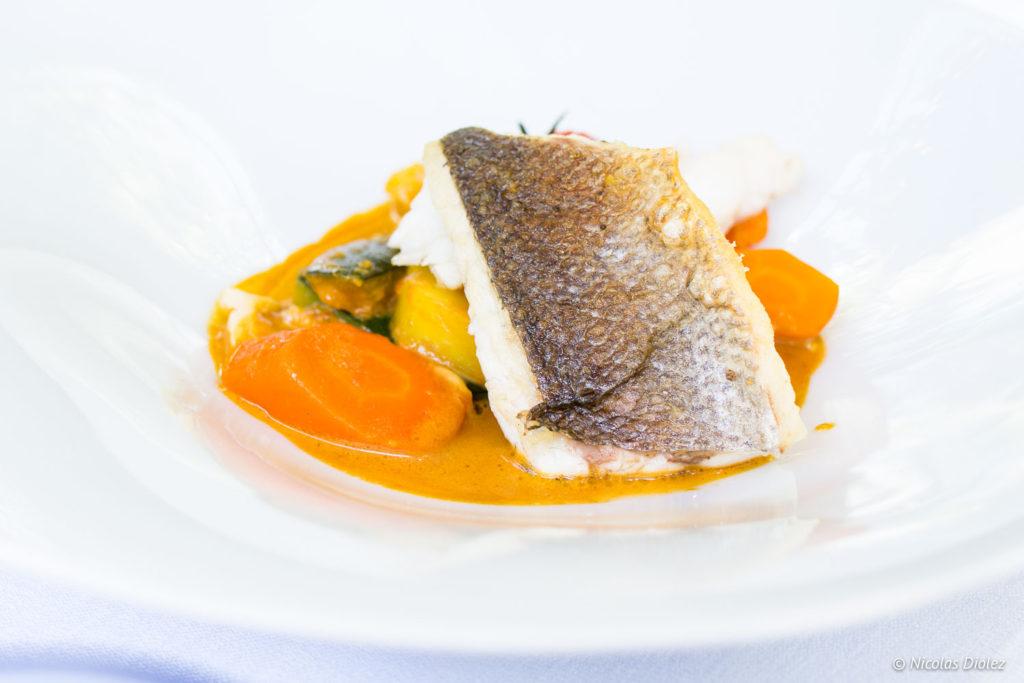 poisson Restaurant le Rive Droite Alençon