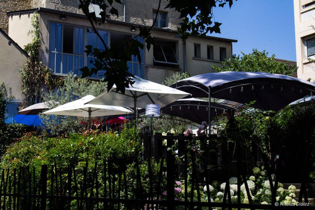 terrasse Restaurant le Rive Droite Alençon