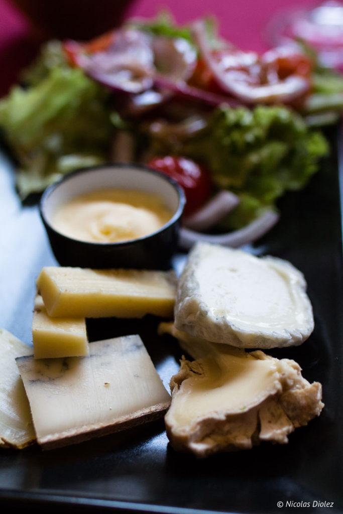 fromages Restaurant l'Epicure Alençon