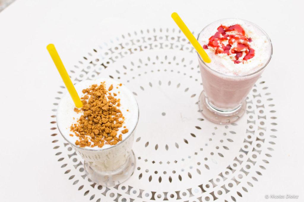 Milkshake Café Renoir Montmartre