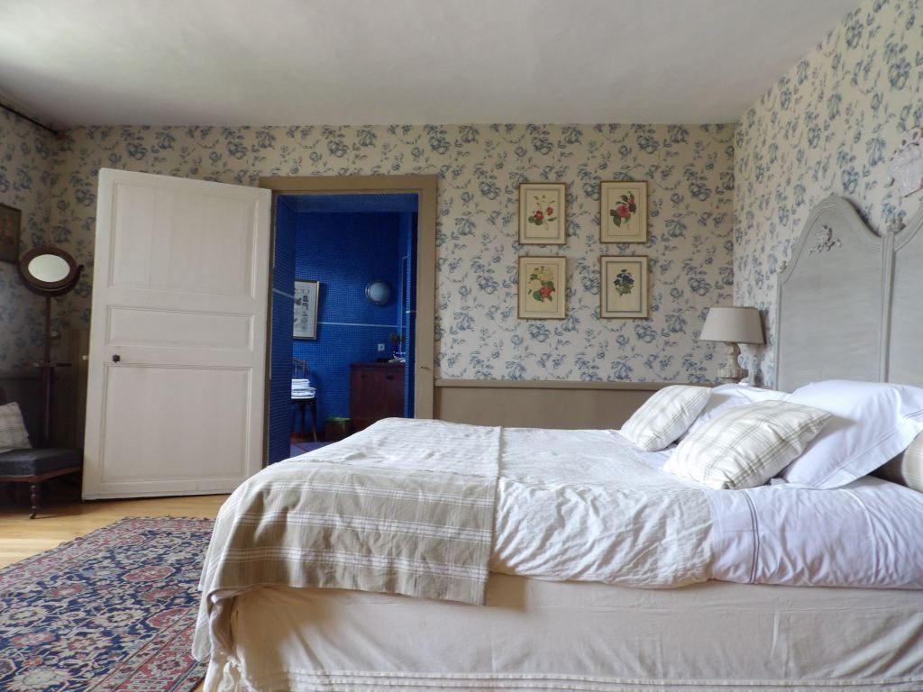 chambre bleue Domaine des Evis Eure et Loir