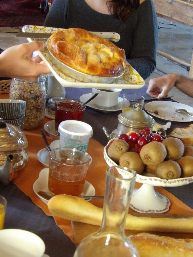 petit déjeuner Domaine des Evis Eure et Loir