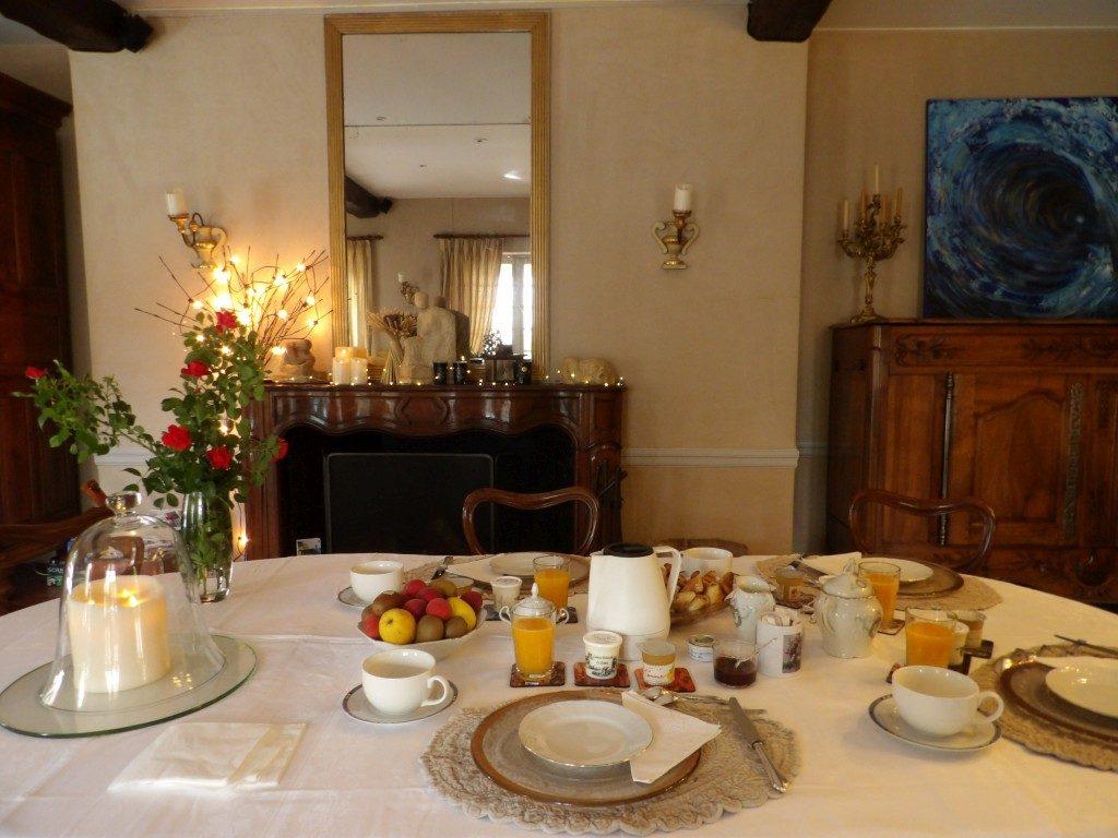 petit déjeuner La Bergerie de l'Aqueduc Eure et Loir