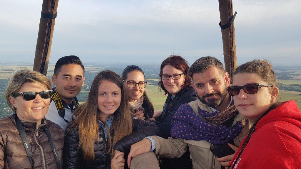 groupe blogueurs Montgolfière Eure et Loir