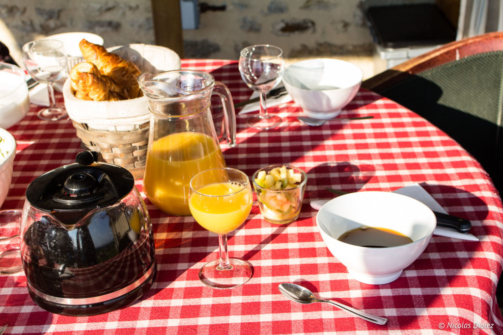 Petit Déjeuner Gite La Garenne Alençon