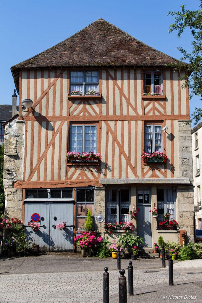 maison colombage Alençon