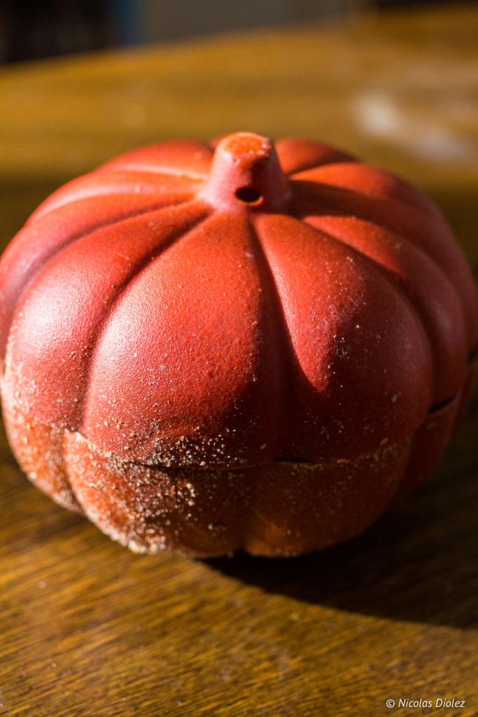citrouille halloween Atelier du Chocolat