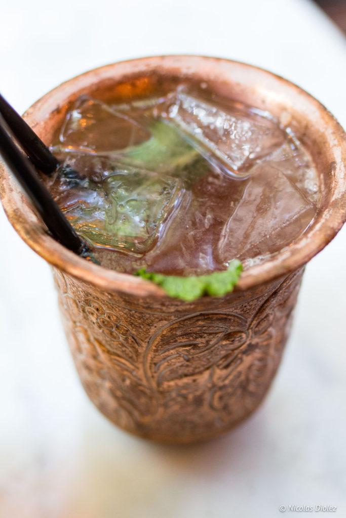 Cocktail au metzcal