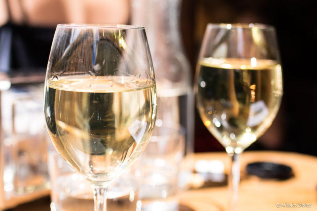 verre vin restaurant Dai Dai