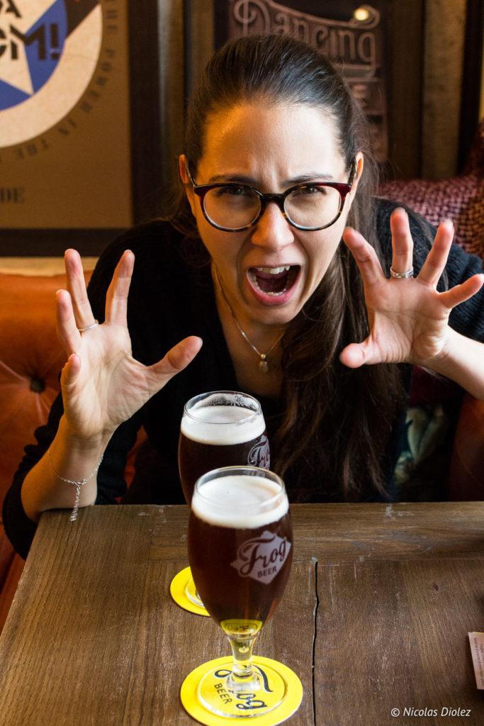 Bière Halloween Frog Pubs melle bon plan