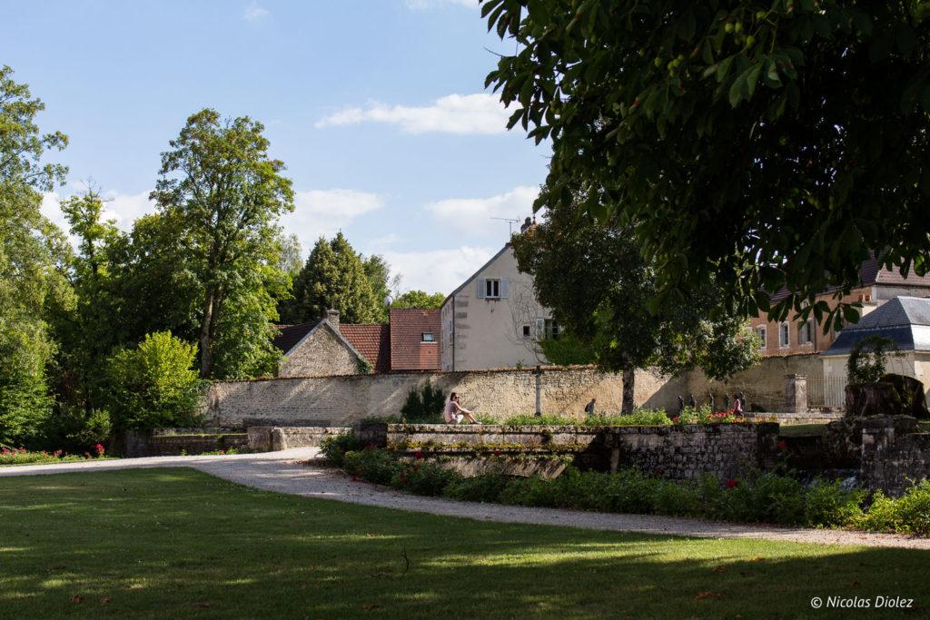 parc Abbaye d'Auberive