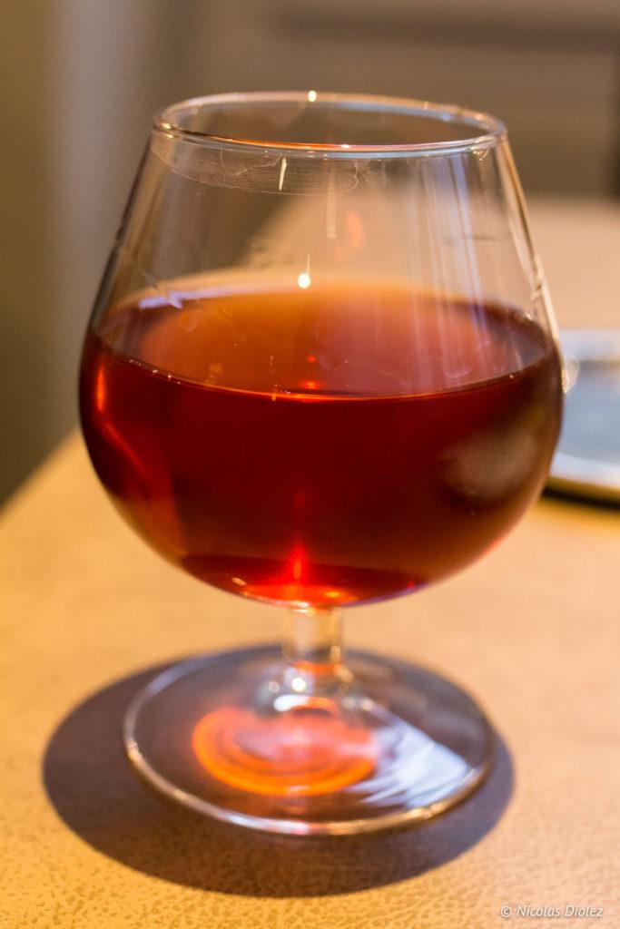 verre restaurant Le Cheval Blanc Langres
