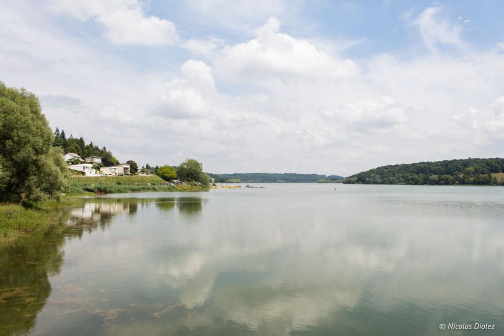lac de la Liez Les Voiliers Peigney
