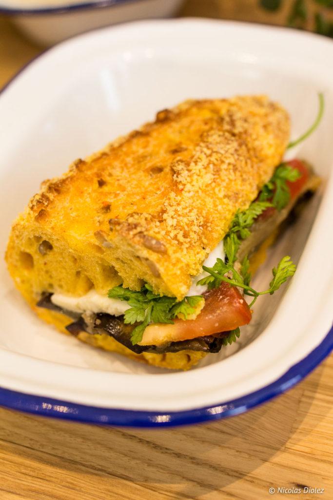 sandwich M la Vie Paris