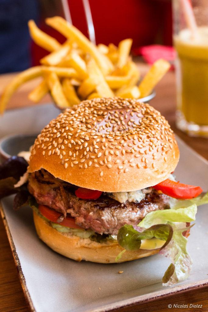 Burger frites Tub