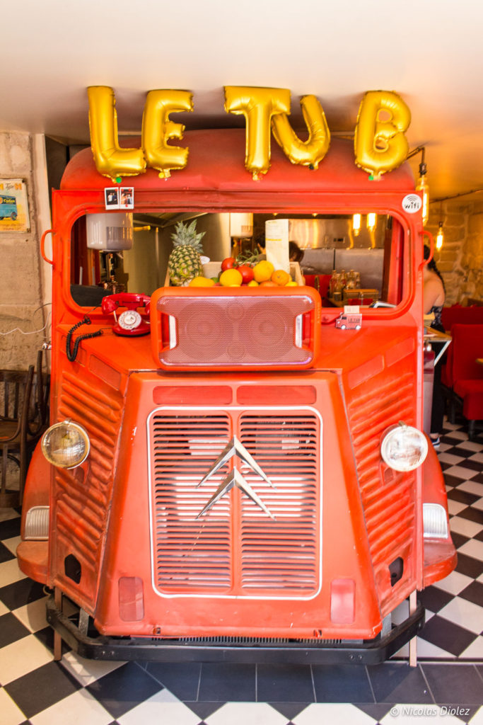 camion Le Tub