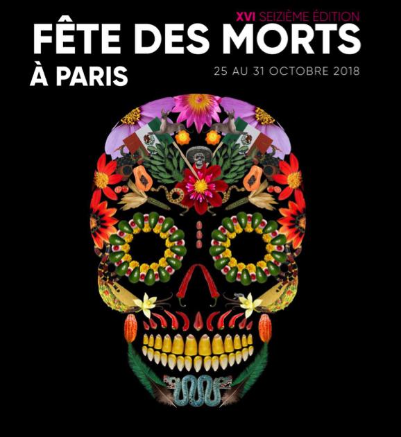 Fêtes des morts Mexique Paris 2018