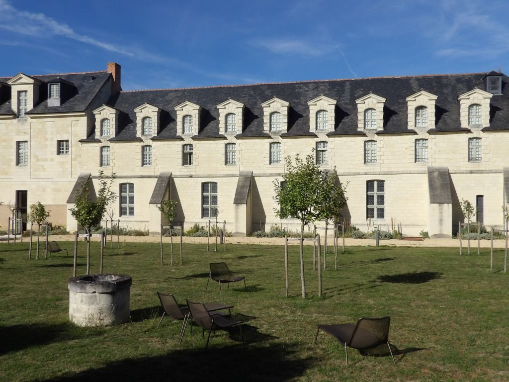 Façade Hôtel Abbaye de Fontevraud
