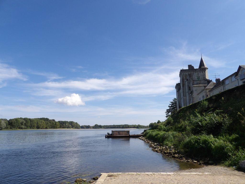 toue cabanée château Montsoreau