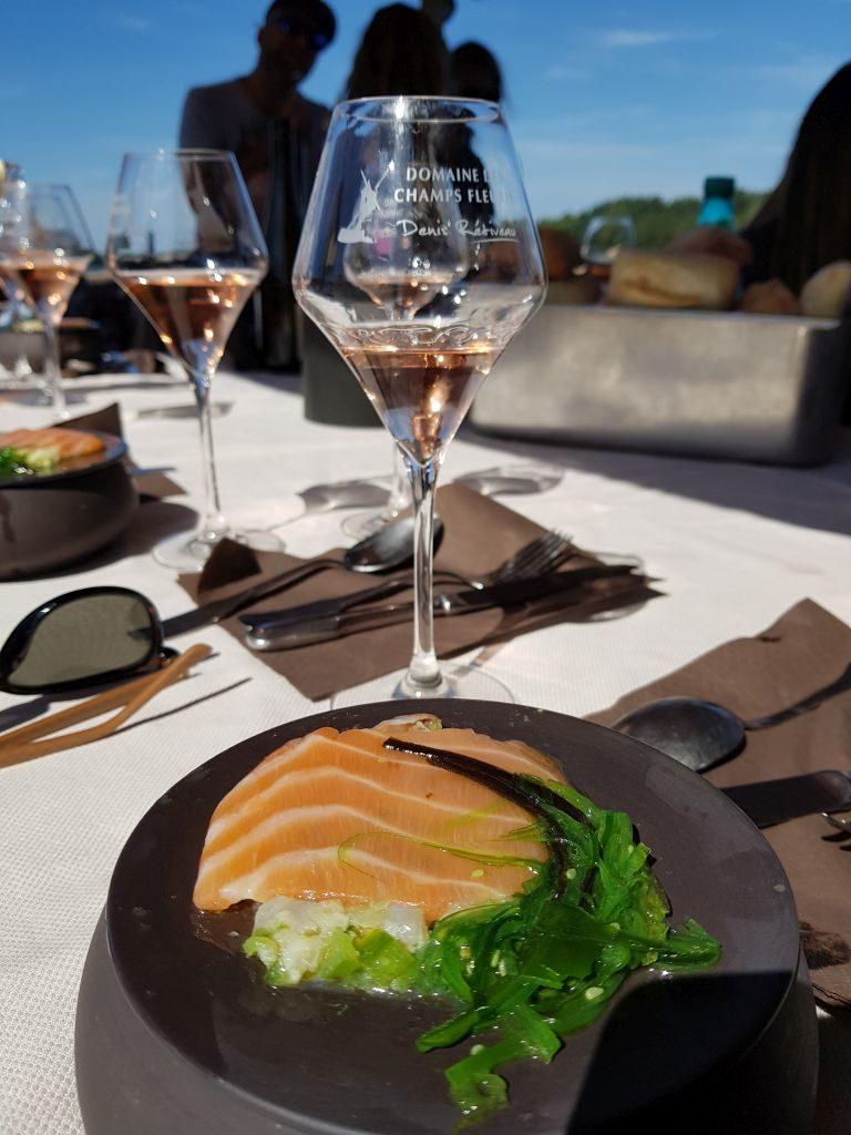toue cabanée saumon