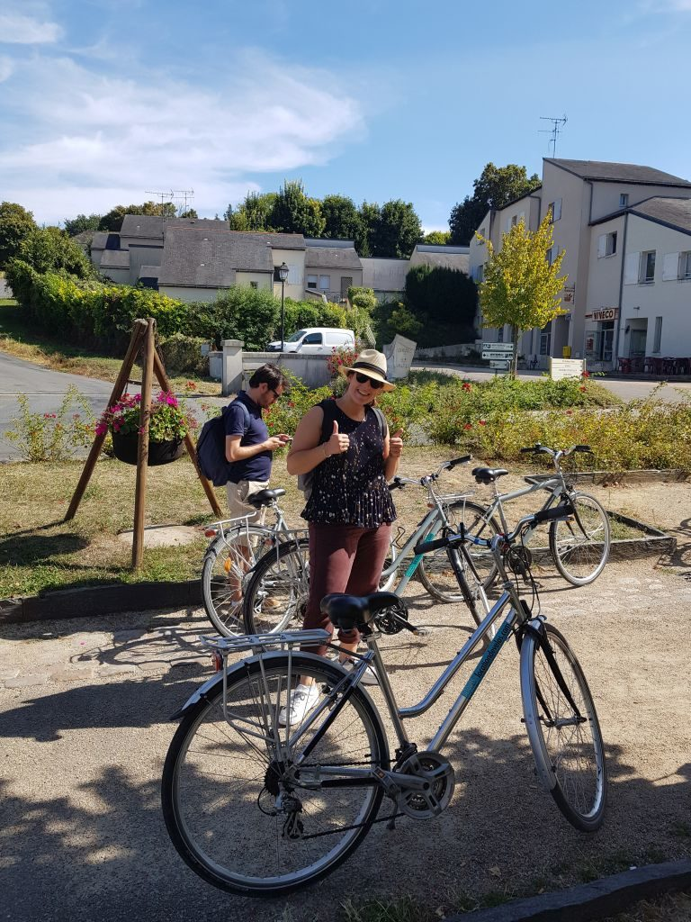 Balade à vélo Saumurois