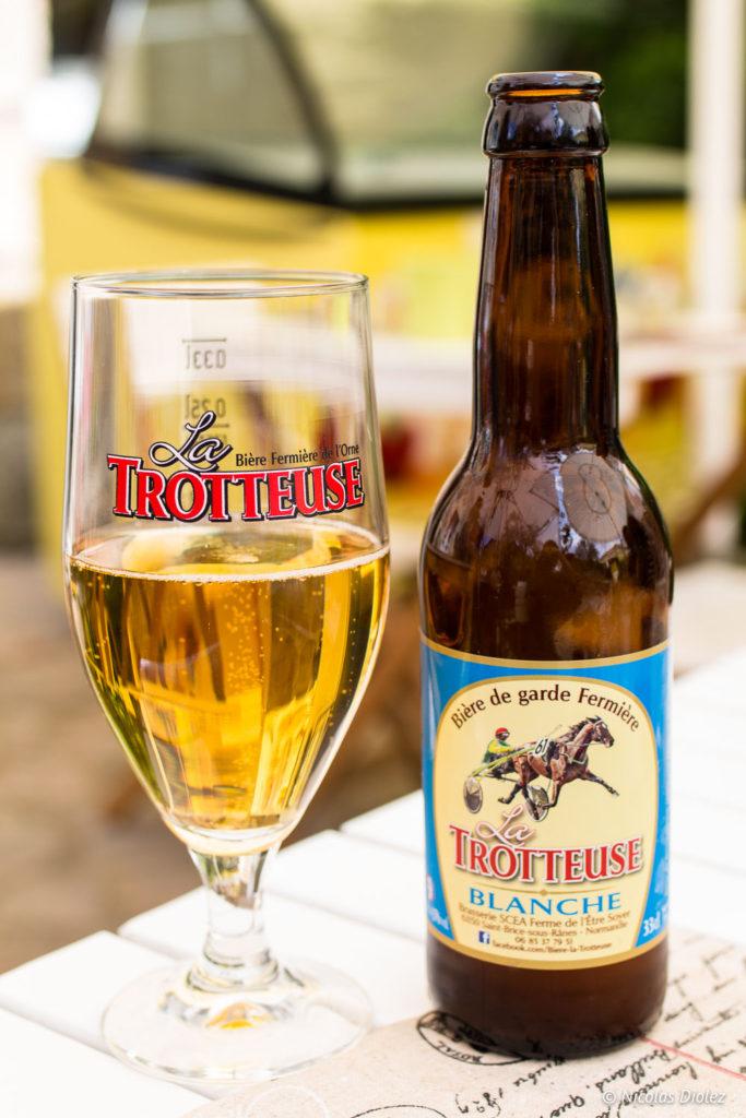 bière la Trotteuse Echoppe Gourmande Saint Cénéri Le Gerei