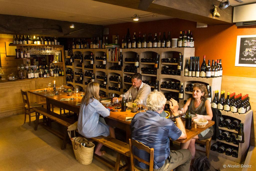 salle Restaurant Caves Madeleine Beaune