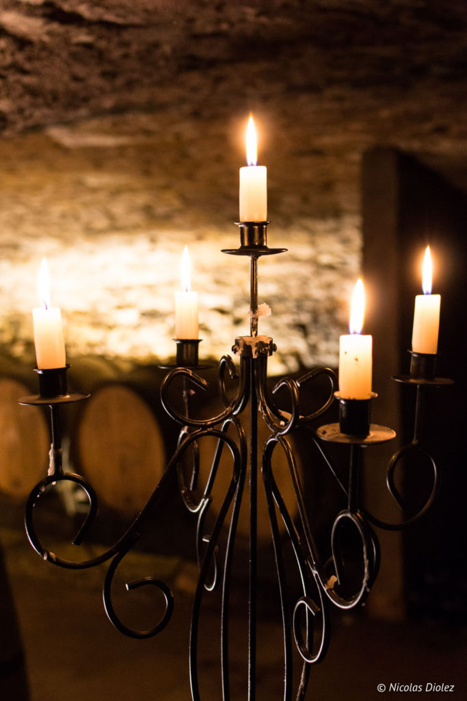 bougies Domaine de Comte Senard