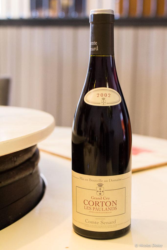bouteille Domaine de Comte Senard Beaune