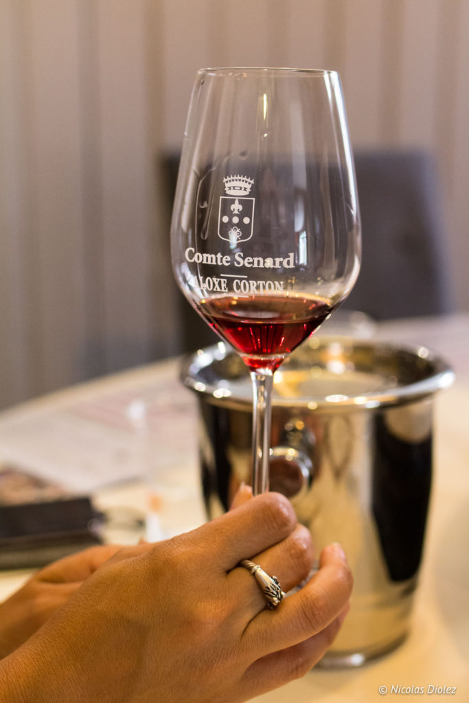verre Domaine de Comte Senard Beaune