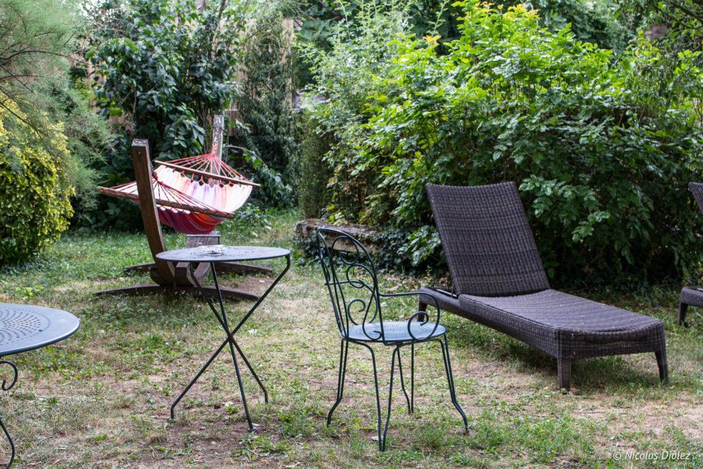 jardin Hostellerie de Bretonnière Beaune