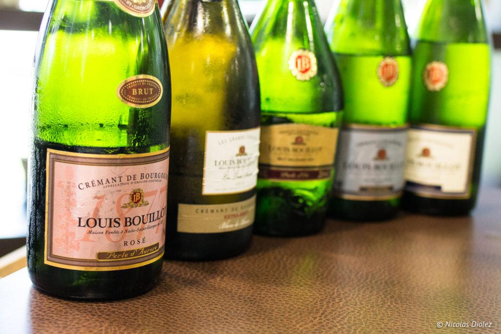 Crémants de Bourgogne Louis Bouillot
